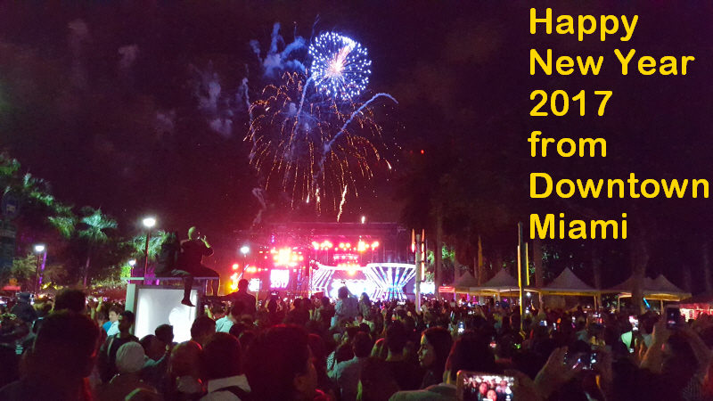 happy new year miami